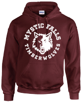 MYSTIC FALLS TIMBERWOLVES HOODIE - INSPIRED BY THE VAMPIRE DIARIES